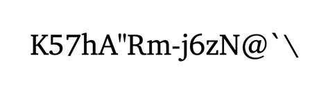 """K57hA""""Rm-j6zN@'\"""