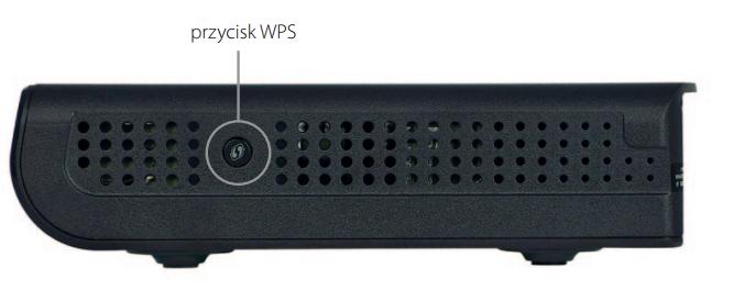 Przycisk WPS na routerze